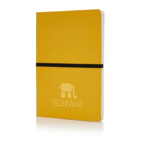 Carnet de notes A5 publicitaire bicolore