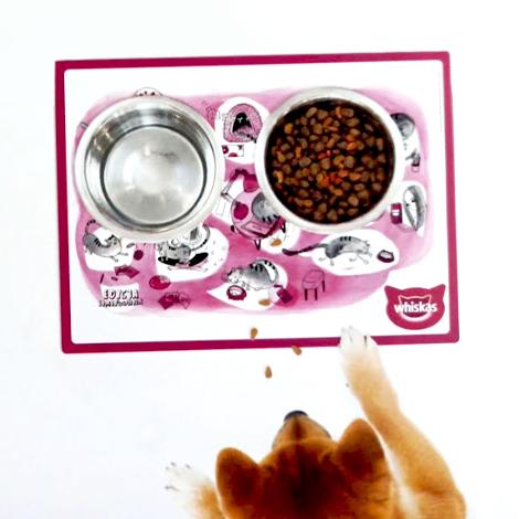Set de table publicitaire pour animaux domestiques