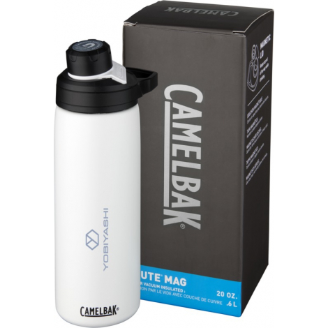 Bouteille isotherme Camelbak® publicitaire 600 ml - Chute Mag