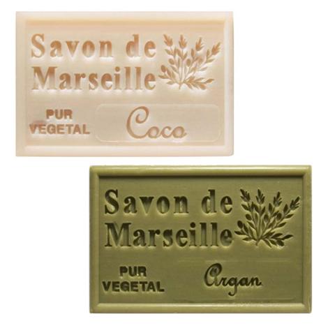 Savon de Marseille publicitaire aux huiles végétales 125 gr
