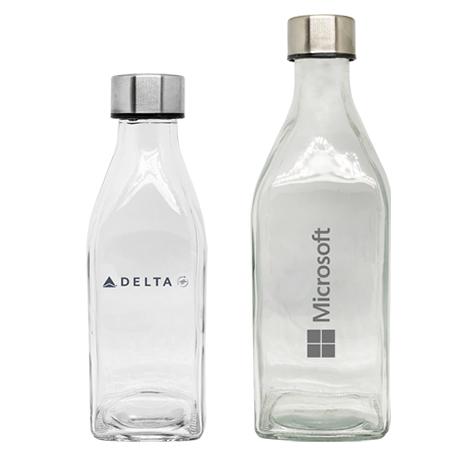 Bouteille en verre promotionnelle 500 ml ou 1 L - Delta