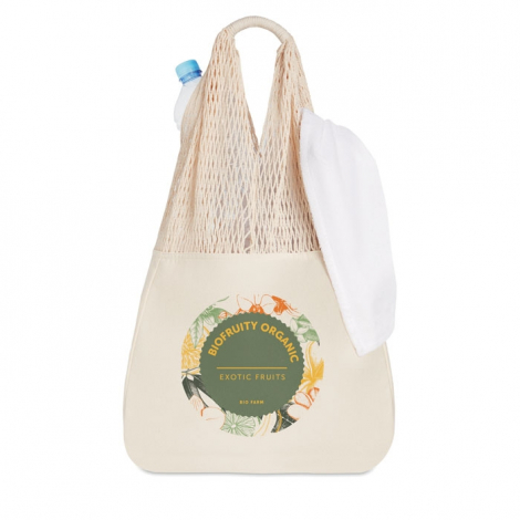 Sac shopping filet publicitaire - Barbuda