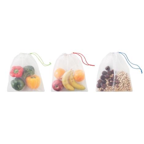 3 sacs provision publicitaires en rpet - Veggie rPET
