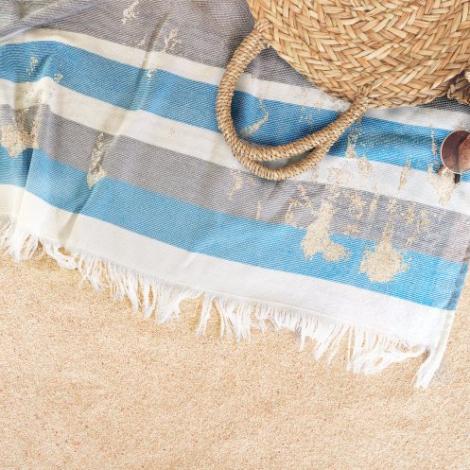 Serviette de plage promotionnelle - Elmar