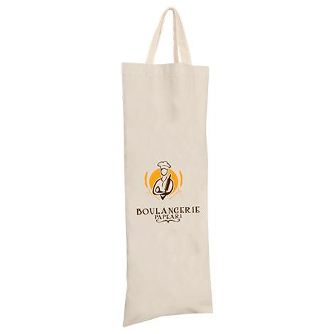 Sac à pain publicitaire en coton 120 gr - Loni