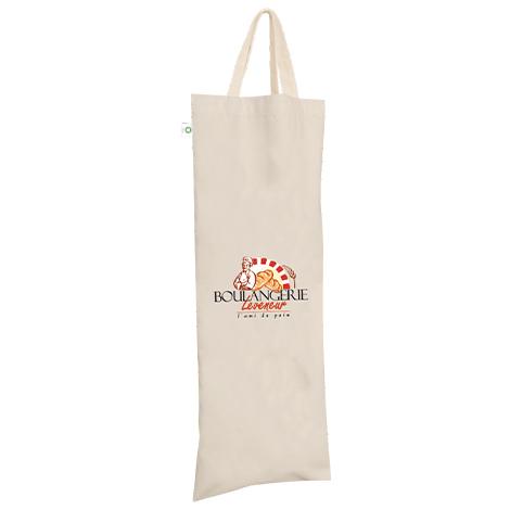 Sac à pain en coton bio publicitaire 120 gr - Ranchi