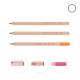 Crayon de bois publicitaire vernis incolore - Agenda 8,7 cm