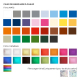 Crayon personnalisable carré vernis couleur - Eco 17,6 cm