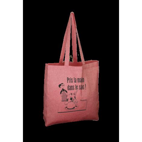 Tote bag en coton recyclé publicitaire 150 gr - Jhansi