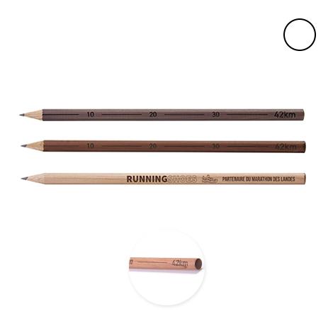Crayon personnalisé rond Collection 42 km - Nature