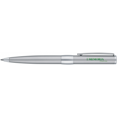 Stylo roller + stylo à bille publicitaires - Image Chrome