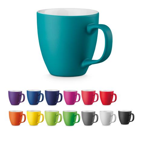 Mug en porcelaine publicitaire 460 ml - Panthony Mat