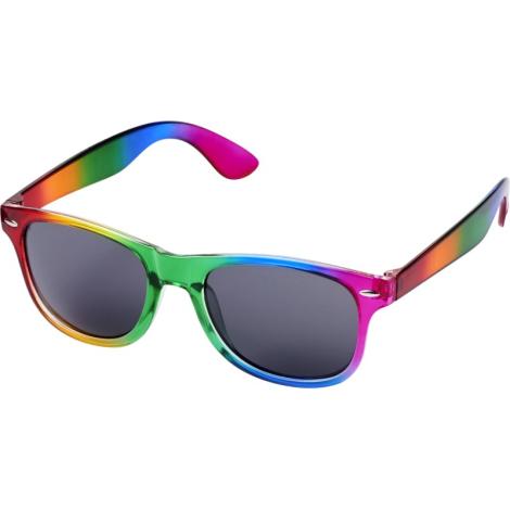 Lunettes de soleil multicolores publicitaires - Sun Ray