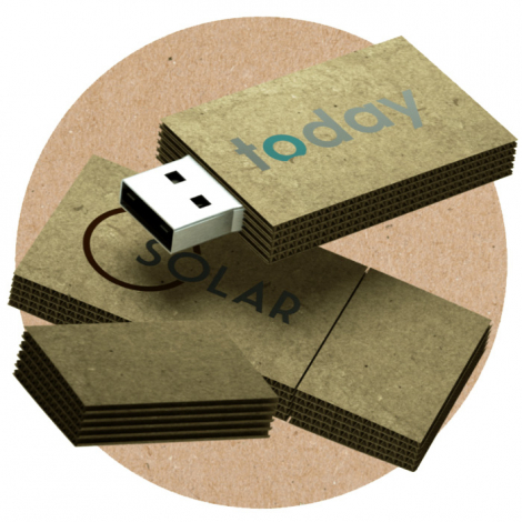 Clé USB en carton personnalisable - Cardbord