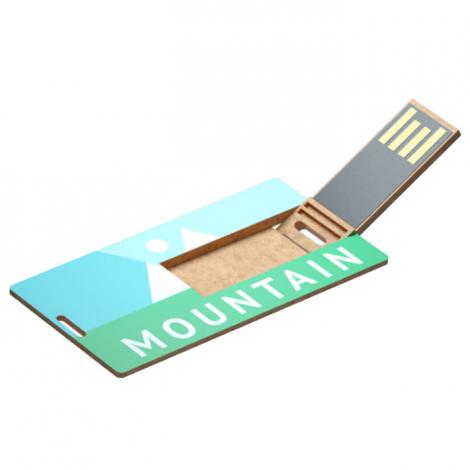 Clé USB en plastique recyclé personnalisable - Small ECO