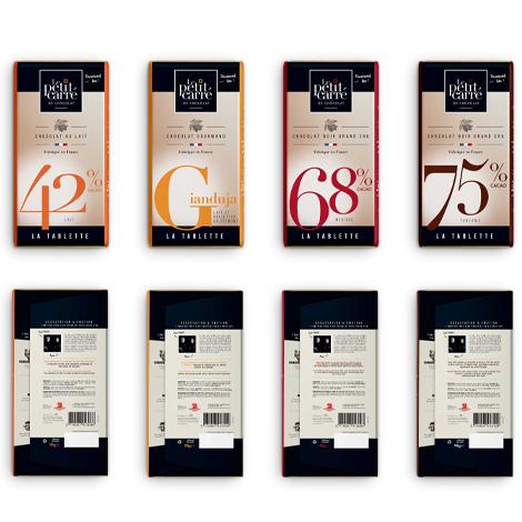 Tablette chocolat 90 gr personnalisable