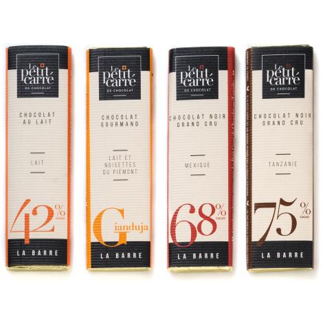 Barre de chocolat publicitaire 10 gr