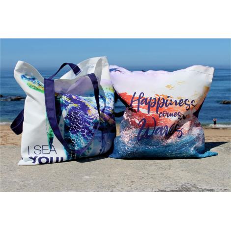Tote bag publicitaire 100% Seaqual™