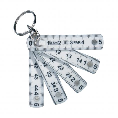 Mini règle pliable porte-clés promotionnel