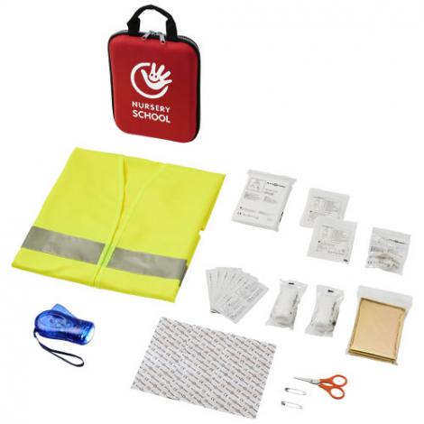 Kit de premiers secours pour la voiture publicitaire - 47 pièces