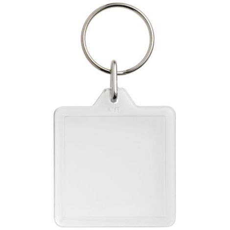 Porte-clés carré publicitaire