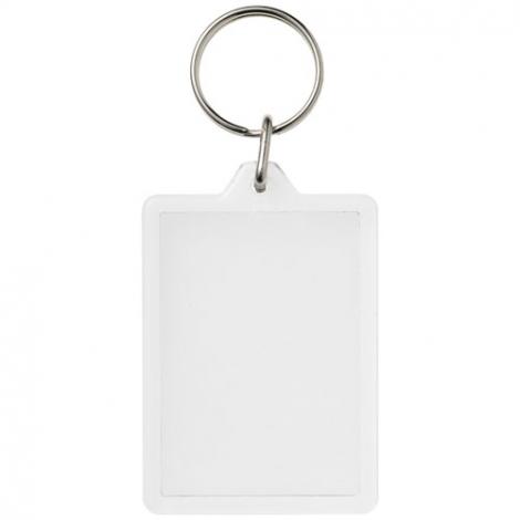 Porte-clés publicitaire rectangulaire - C1 - Vito