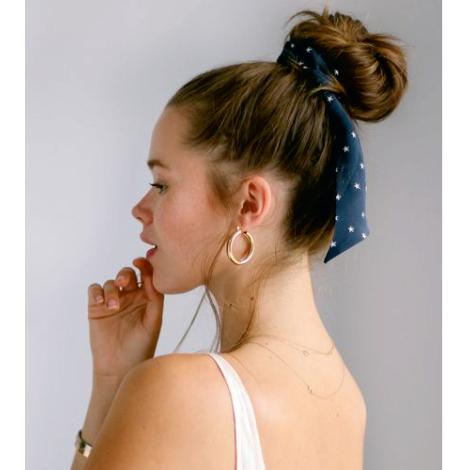 Chouchou publicitaire avec foulard 18 cm