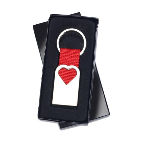Porte clés publicitaire - BONHEUR
