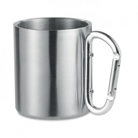 Mug publicitaire en inox 220 ml - TRUMBO