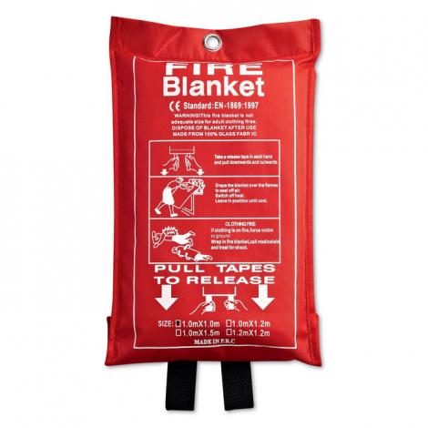 Couverture anti-feu publicitaire - Blake