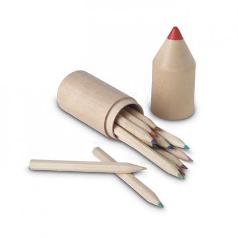 Set de crayons de couleur publicitaire - Coloret