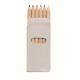 6 mini crayons de couleur personnalisables - Abigail